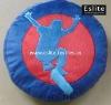 Polyester Plush Skater Round Cushion