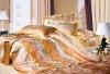 Polyester/cotton Jaquard bedding sets