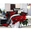 Polyester disperse print bed sheets/bedding set
