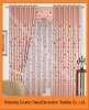 Polyester printed blackout curtain fabric