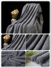 Popular coral fleece sofa blanket