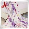 Printed Coral fleece blanket/polyester blankets