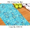 Printed Design PVC Floor cover,Floor Area rugs