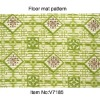 Printed Design PVC Foam Floor Carpet,Floor Area Rugs