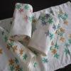 Printed Logo Dobby Edge Egyptian Cotton Towel