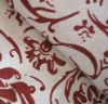 Printed Pure Linen Curtain Fabric