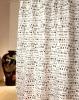Printed Waterproof Shower Curtain