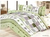 Printed bedding set / fabric