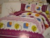 Printed cartoon  bed sheet
