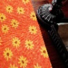 Printed design Red Floor carpet and rugs