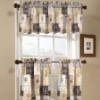 Printed kitchen curtains