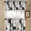 Printed kitchen curtains