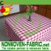 Printed non woven fabric for carpet