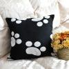Printed pattern decorative back cushion