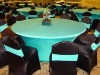 Printed polyester Table cloth for banquet