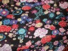 Printed rayon fabric for skirt or lady't garments