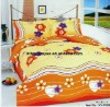 Professional Manufacturer 100% Cotton 4pcs Bedding set(pillowcase, bed sheet, fitted sheet,)stock!!XY-P029