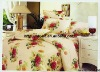 Professional Manufacturer 100% Cotton 4pcs Bedding set(pillowcase, bed sheet, fitted sheet,)stock!! XY-P093