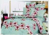 Professional Manufacturer 100% Cotton 4pcs Bedding set(pillowcase, microfiber bed sheets, fitted sheet,)stock!! XY-P099