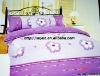 Professional Manufacturer 100% Cotton 4pcs bedding set stock XY-P020