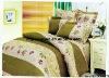 Professional Manufacturer 100% Cotton 4pcs home textile bedding set stock XY-P078