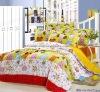 Professional Manufacturer 100% Cotton 4pcs reactive printed bedding set XY-C02
