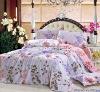 Professional Manufacturer 100% Cotton 4pcs reactive printed home bedding set XY-C025