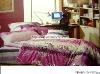 Professional Manufacturer 100% Cotton 4pcs reactive printed home bedding set XY-C027