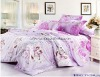 Professional Manufacturer 100% Cotton 4pcs reactive printed home bedding set XY-C044