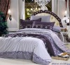 Professional Manufacturer 100% Cotton 4pcs reactive printed home bedding set XY-C073