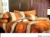 Professional Manufacturer 100% Cotton 4pcs reactive printed home bedding set XY-C093