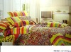 Professional Manufacturer 100% Cotton 4pcs reactive printed home bedding set XY-C100