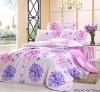 Professional Manufacturer 100% Cotton 4pcs reactive printed home bedding set XY-C110