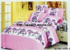 Professional Manufacturer 100% Cotton comforter set (pillowcase, 100% polyester bed sheets, fitted sheet,)stock!!XY-P110
