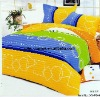 Professional Manufacturer 100% polyester 4pcs embroidered bedding set XY-P044