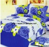 Professional Manufacturer 100% polyester 4pcs embroidered bedding setXY-P037
