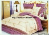 Professional Manufacturer 100% polyester 4pcs home bedding set XY-P089