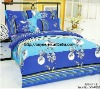 Professional Manufacturer 4pcs 100% polyester bed set stock XY-P052