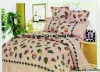 Professional Manufacturer 4pcs100% Cotton  bedding set (pillowcase, flat sheet, fitted sheet,)stock!XY-P107