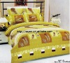 Professional Manufacturer 6pcs 100% Cotton bed set stock XY-P046