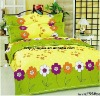 Professional Manufacturer 6pcs 100%  polyester bed set stock XY-P053