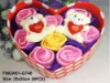 Promotion Lovely Rose Cake Towels Gift Box,Valentine Gift Towels Set,Birthday Gift