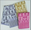 Promotional cotton Jacquard towel/ yarn-dyed bath towel