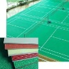 Pvc/vinyl floor with sand grain surface pattern