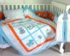 Rabbit Patchwork Baby Bedding