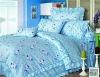 Rabbit Pattern!!100%Cotton Printed Kids Bedding Set