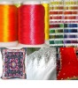Rayon Embroidery Thread Bright Dyed