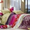 Reactive Printed Bedspread