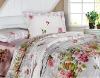 Reactive Printed Cotton Bedding Set / fabric