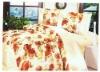 Reactive printed bedding set